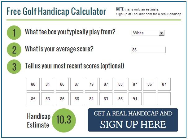 Golf handicap calculator free -us canada australia for android.