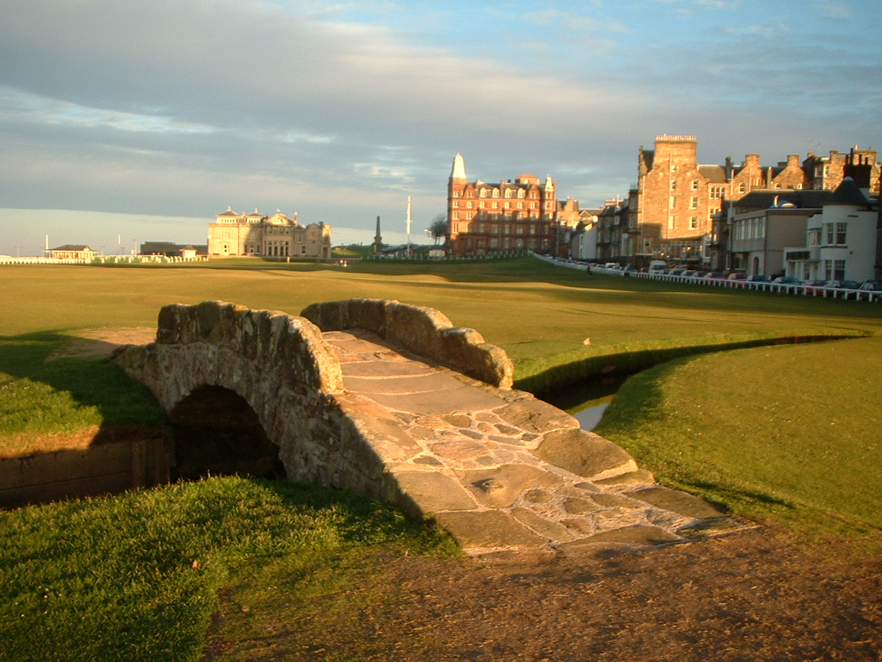 Old Tom Morris, Golf Course Design