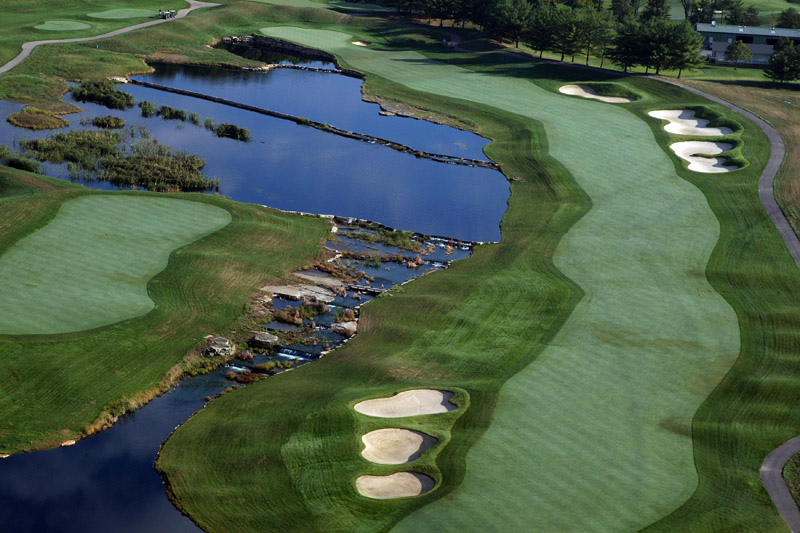 Heroic Hole, Jack Nicklaus Golf Course Design