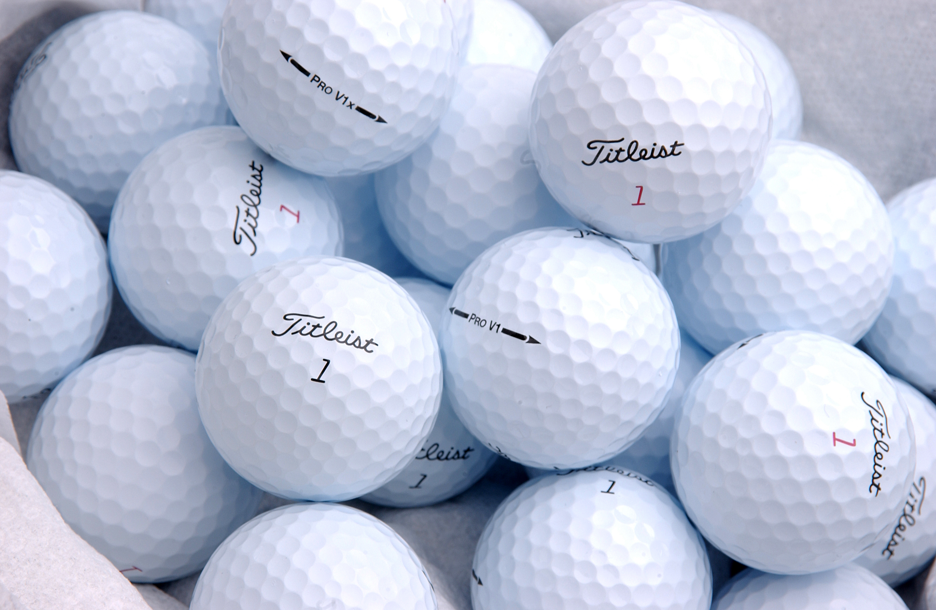 Types Of Golf Balls Did