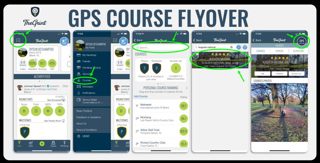 GPS Course Flyover 1
